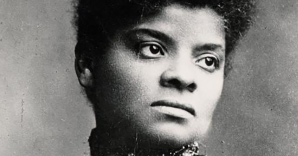 This is a picture of Ida B. Wells in her 20's